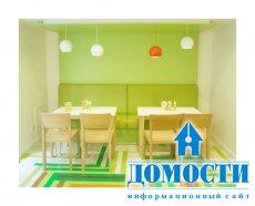Разноцветная ресторанная ёлочка