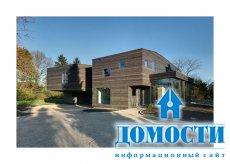 Деревянные дома-близнецы