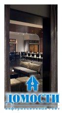 Козырный дизайн утонченного ресторана