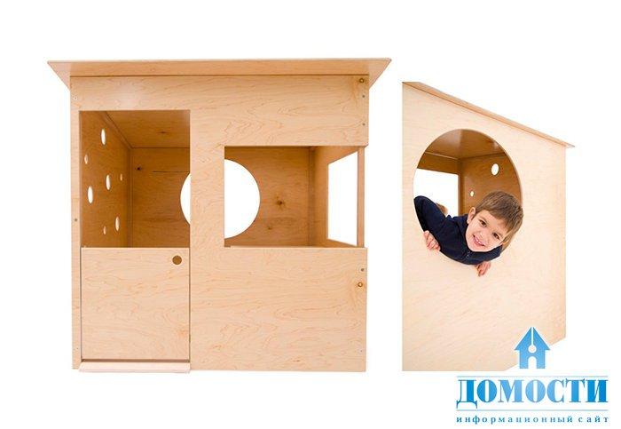 Сделать простой домик для ребенка