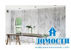 Современный шик – бетонные обои