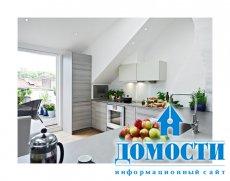 Белоснежная квартира в стиле лофт