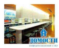Новый дизайн ресторанов Макдональдс