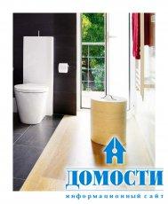 Как декорировать ванную комнату черной плиткой