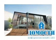 Таунхаус с террасой на крыше