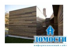 Дом с атриумом в стиле ранчо