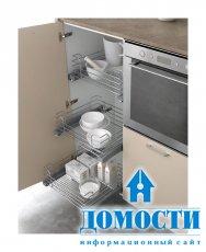 Кухонная мебель с видами на улицу
