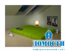Яркие модули для небольшой гостиной