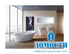 Цветочный дизайн современной ванной комнаты