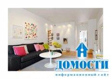 Яркие цвета в обычной квартире