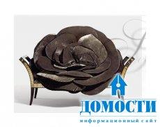 Мягкие бабочки и розы – шедевры дизайна мебели
