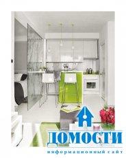 Маленькая квартира со стеклянными стенами