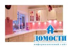 Как оживить кухню при помощи розового