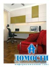 Разноцветная эклектика в современной квартире