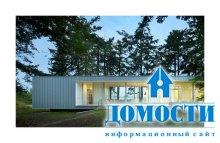 Дом с функциональной растительностью на крыше