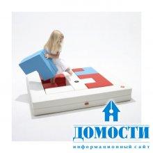 Мебельный паззл для детей