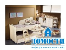Красота и функциональность детской мебели