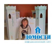 Картонный дом – лучший выбор для ребенка