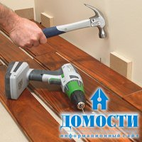 Инструкция по установке деревянного пола