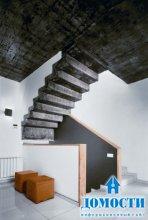 Многоуровневый дом с лаконичным дизайном