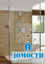 Прозрачное ванное святилище