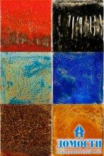 Природные мотивы на стеклянных стенах