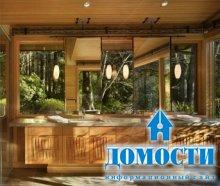 Лесной домик из дерева