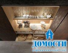 Промышленная кухонная элегантность