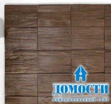 Натуральная древесина в дизайне стен