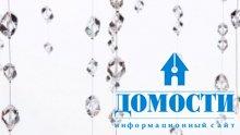 Люстра со слезами-кристаллами
