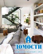 Дом с ковровыми блинами
