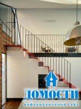 Стальное обновление кирпичного дома