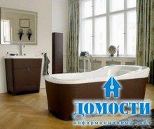 Современная манерная мебель в ванную