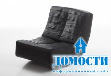 Мягкое кресло-качалка