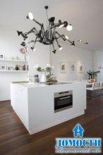 Эффектный дизайн двухэтажной квартиры