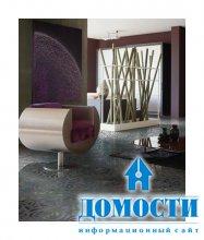 Декорирование дома плиткой с узором