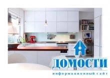 Белоснежная кухня с модульным дизайном