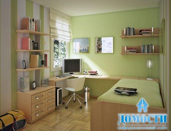 Дизайн кухни-гостиной с лестницей в частном доме