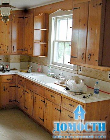 Маленькая прямоугольная кухня дизайн