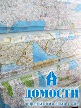 Комод из географических карт