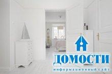 Контрастный минимализм в шведской квартире