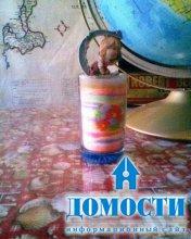 Бутылка украшает стол, человек – бутылку