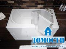 Утонченный дизайн маленькой ванной