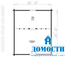 Классический дизайн брусовых домов