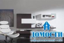 Корпусный минимализм в гостиной