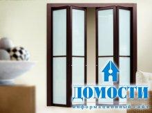 Обновленный дизайн складных дверей