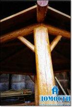 Малая бревенчатая форма