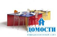 Многофункциональный радужный стол