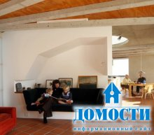 Крыша-парус на сборном доме