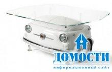 Диваны и столы из автомобиля FIAT